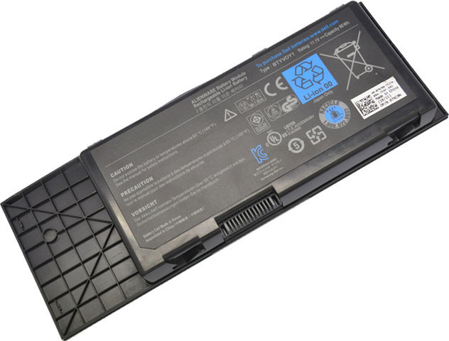 Battery for Dell Alienware M17X R3 laptop