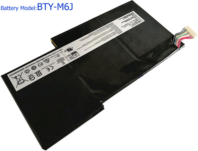 Battery for MSI BTY-M6J laptop