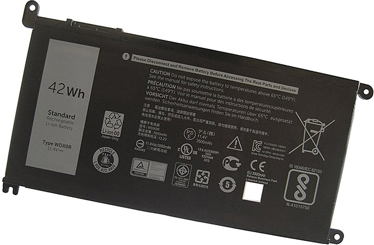 Battery for Dell Inspiron 13 (7368) laptop