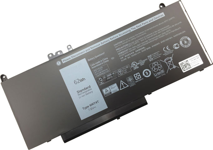 Battery for Dell 0WYJC2 laptop