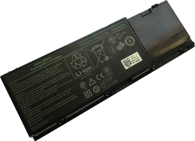 Battery for Dell 312-0215 laptop