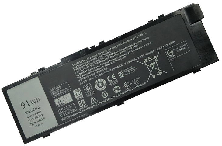 Battery for Dell Precision 7720 laptop