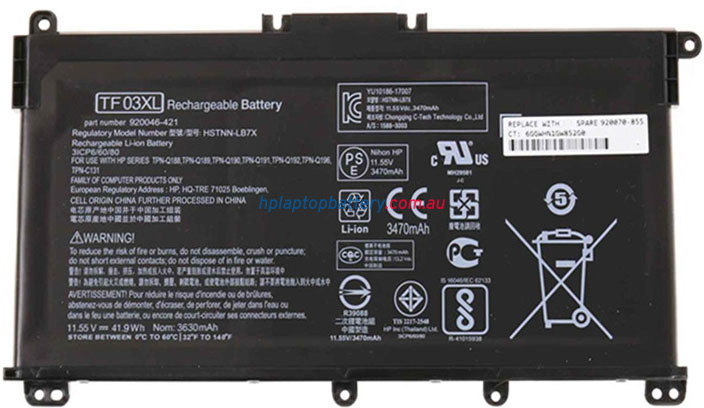 Battery for HP Pavilion 15-CC042TX laptop