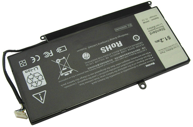 Battery for Dell 0VH748 laptop