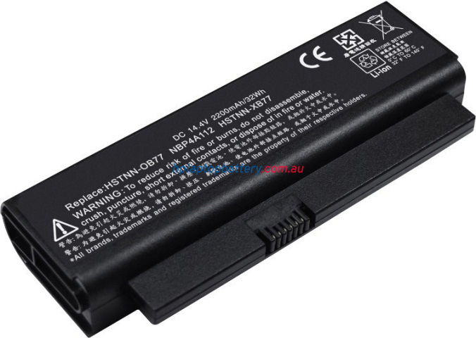 Battery for Compaq HSTNN-OB77 laptop