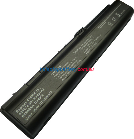 Battery for HP Pavilion DV9000 laptop